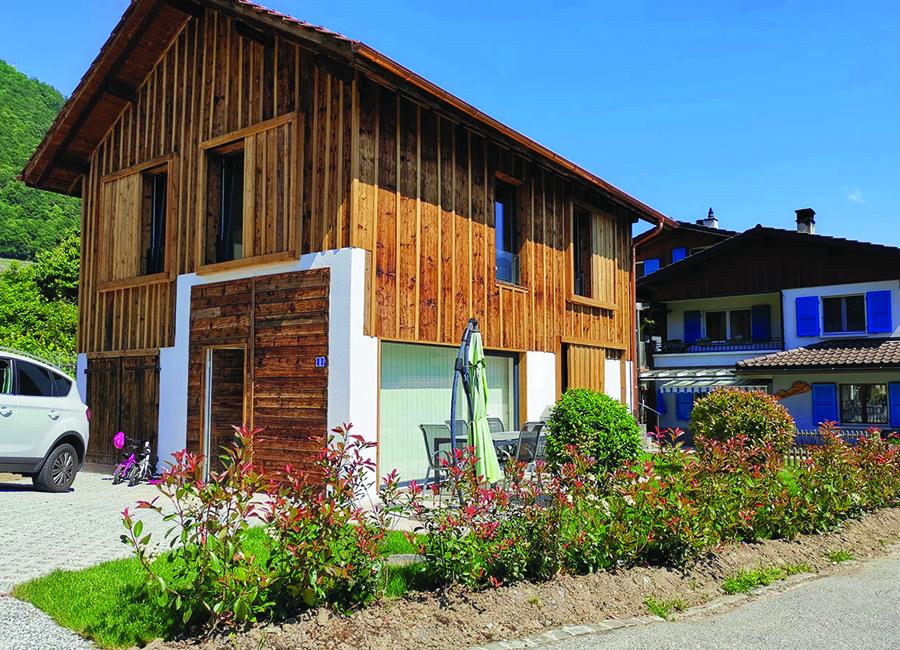 Rénovation grange à Vouvry